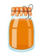 Glass Jar Honey